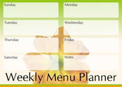 Menu planning,food menus,food program planning